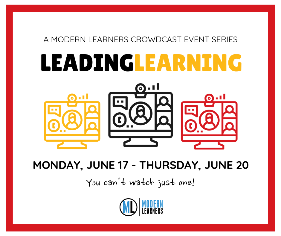 leading learning event series graphic